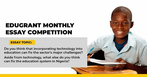 Edugrant Monthly Essay Competition 2020