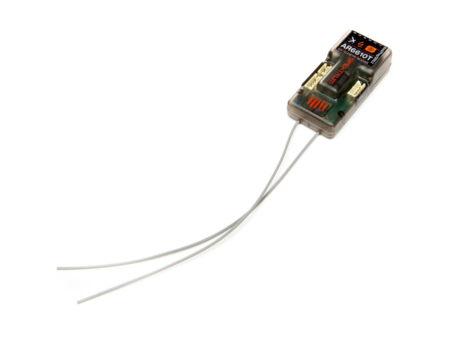 Spektrum AR6610T 6 Channel DSMX Telemetry Receiver