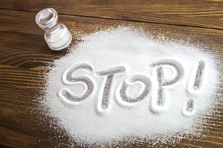 REDUCE THE SALT ADDED TO YOUR FOOD