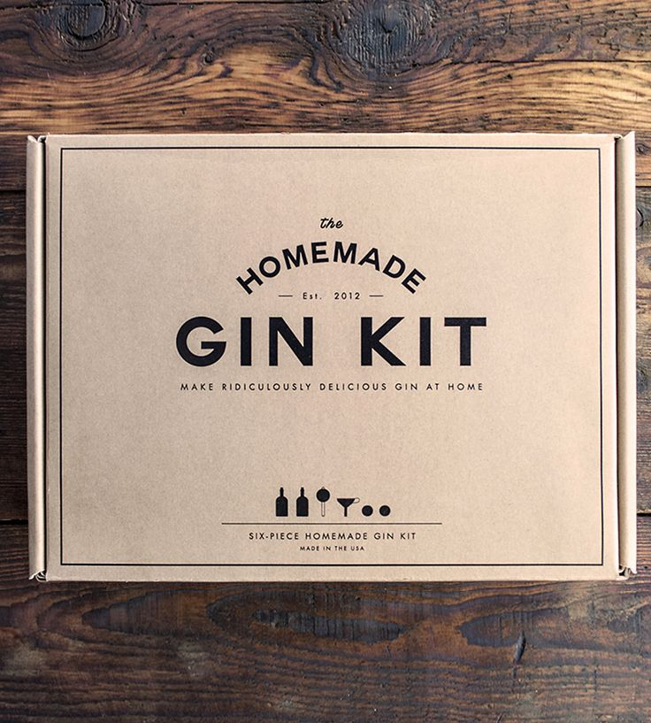 BIRCHBOX HOMEMADE GIN KIT