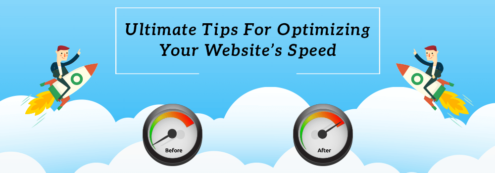 Blgo Banner of Ultimate Tips for Optimizing Website's Speed