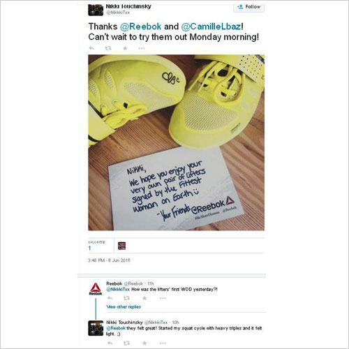 Reebok redress customer complaints @Logicserve