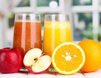 Freshly made juices