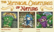 The Mythical Creatures of Nature