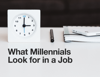 What Millenials Look for in a Job (1)