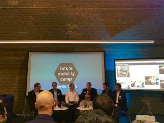 Paneldiskussion zur Sichtweise der Industrie auf Start-ups und Innovationen