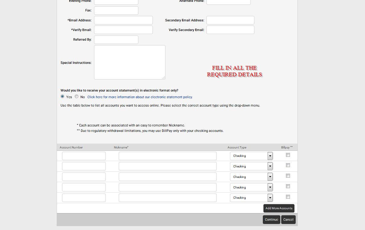 First Security Bank Check Balance