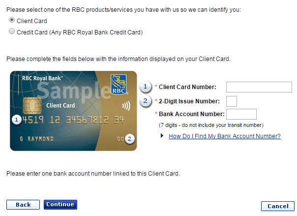 Royal Bank Online Personal Banking