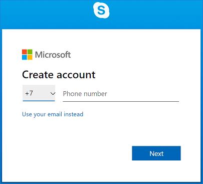 Skype Login and Sign Up