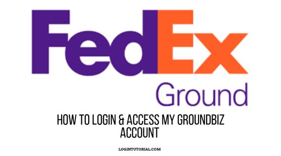 Mygroundbiz Login: FedEx Account Portal