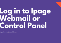 Log in to Ipage Webmail or Control Panel
