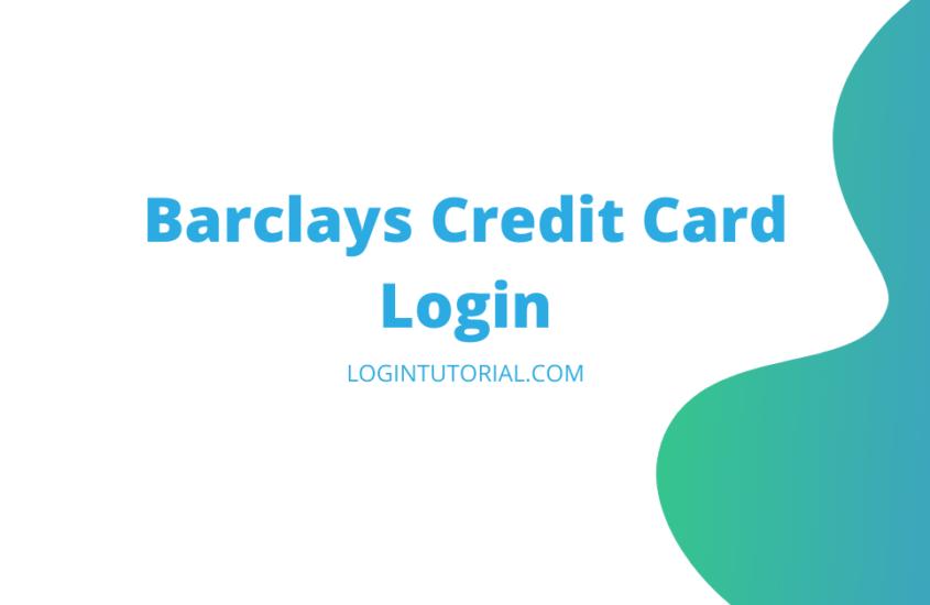 barclayscard login process