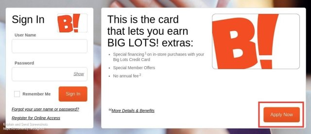 Big Lots Apply Now
