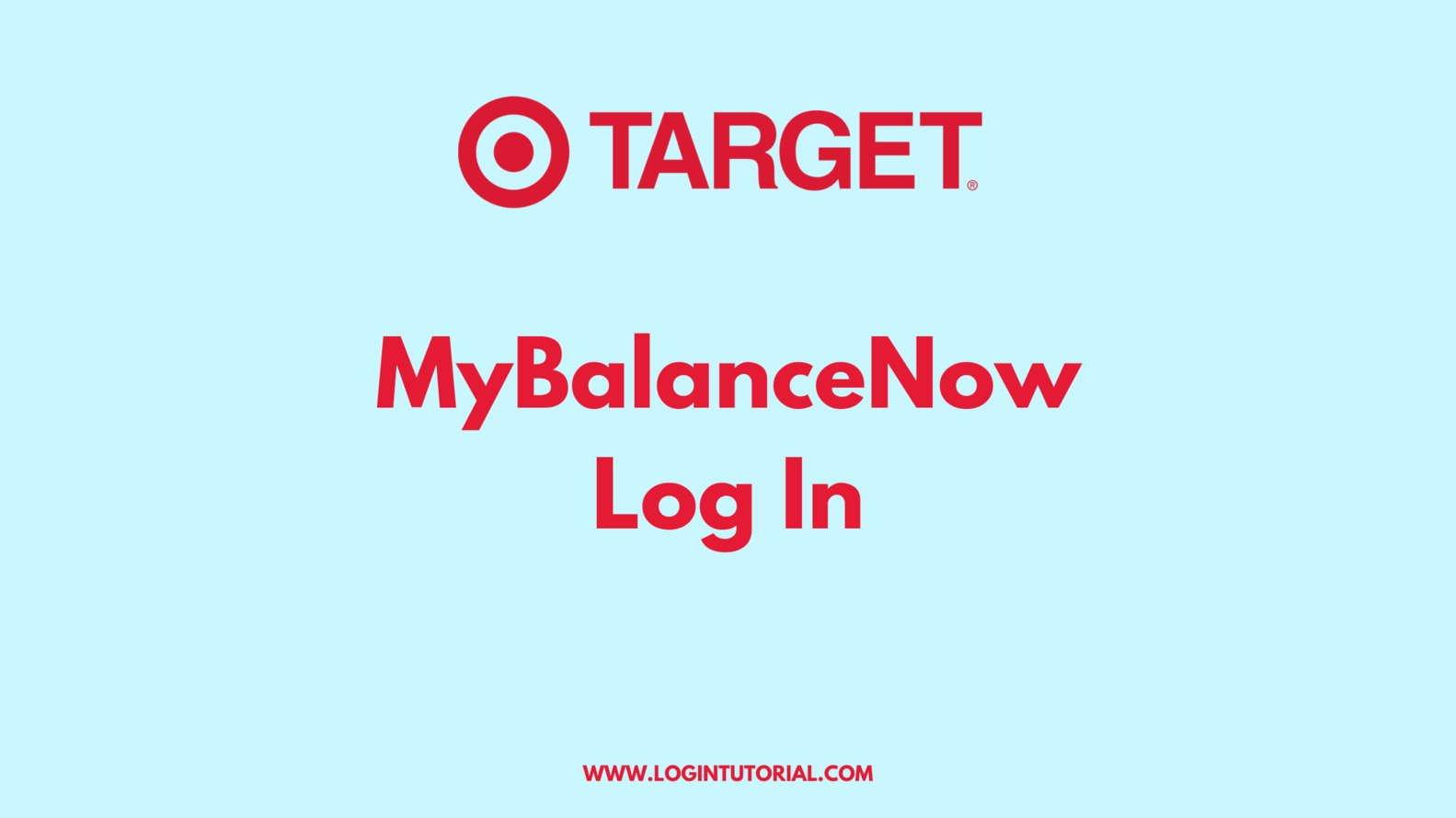 mybalancenow Target Login