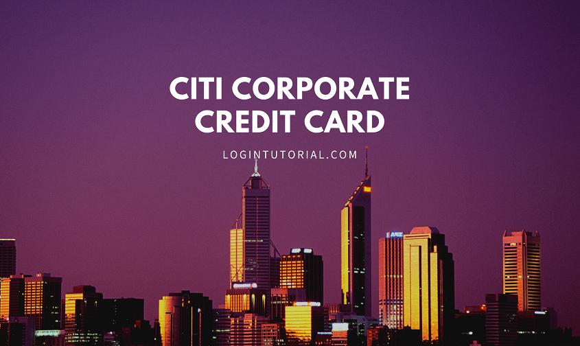 Citi Corporate Credit Card Image