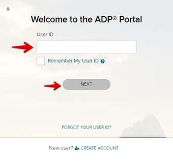 ADP Portal Login for Administrator