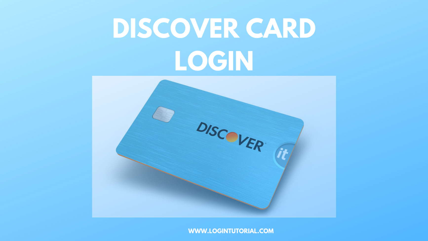 How To Discover Credit Card ?