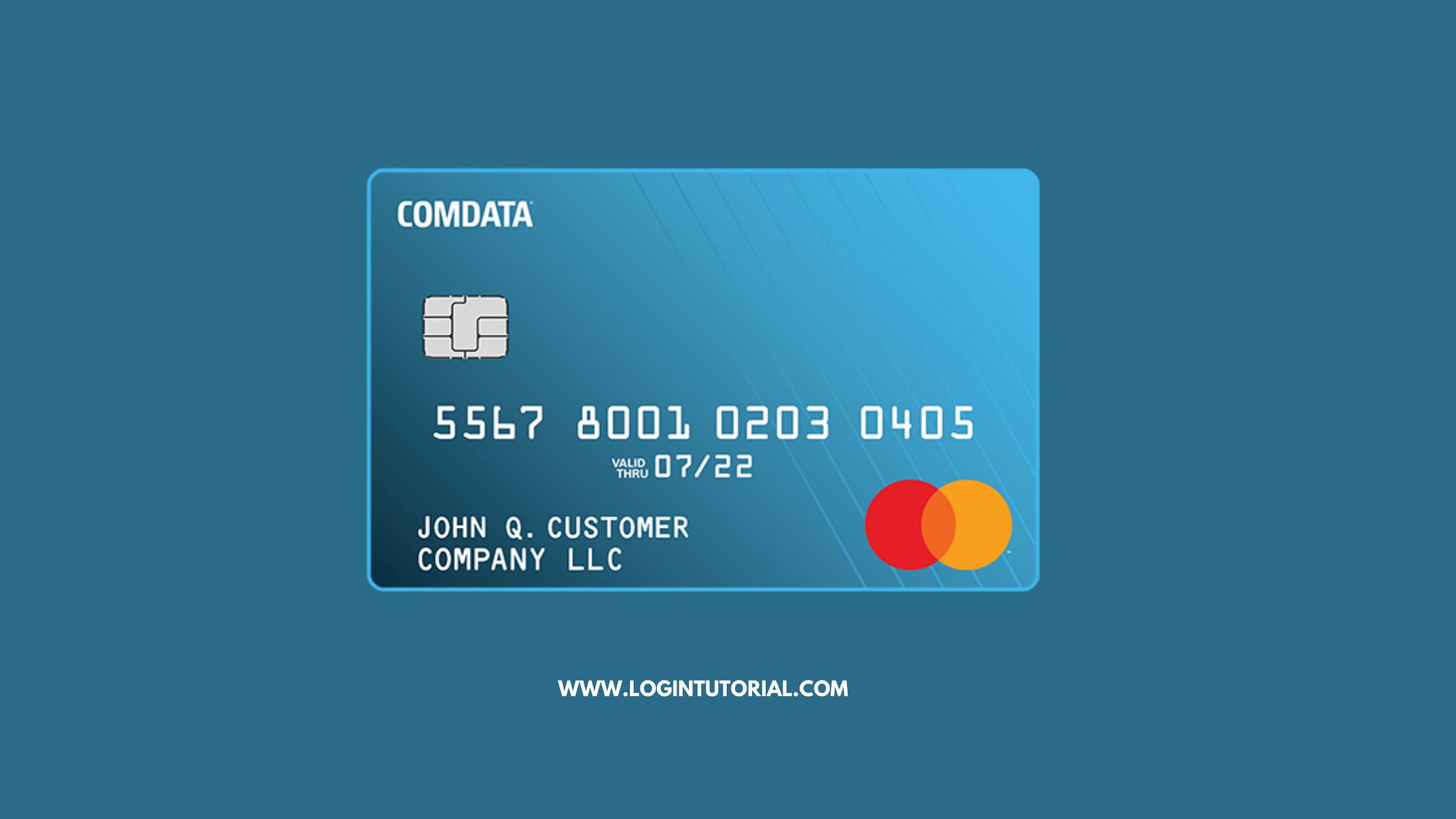comdata card login Guide