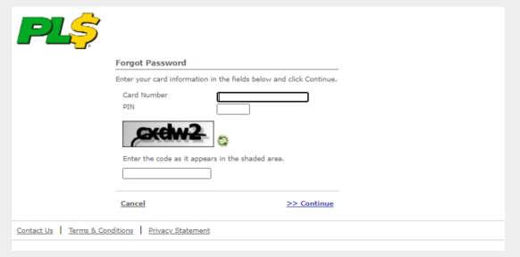 PLS Xpectations! Forgot Password Form