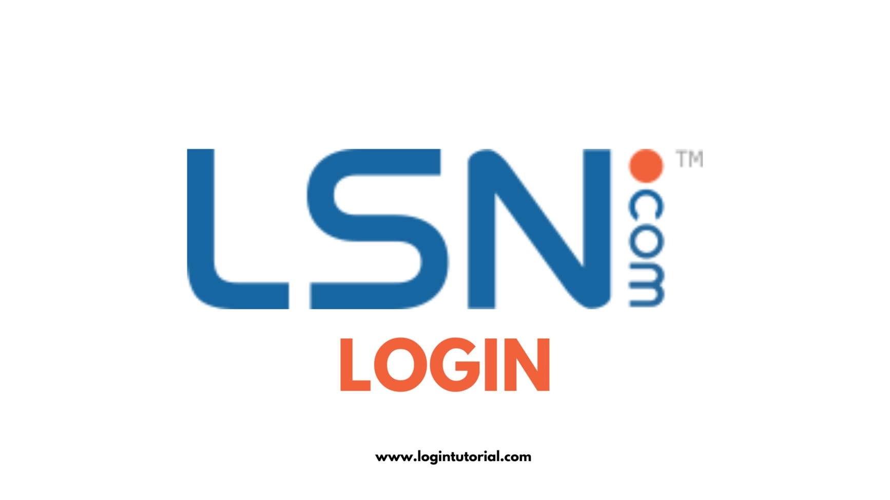 LSN Login steps