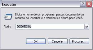 Configurar DCOM - DCOMCnfg