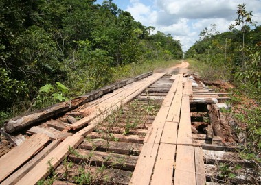 a logística na região amazônica