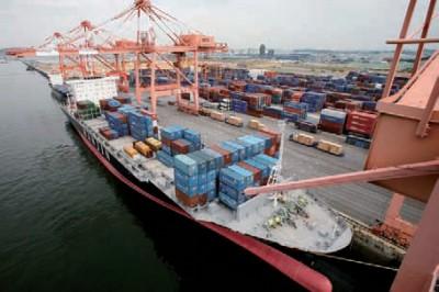 logística portuária