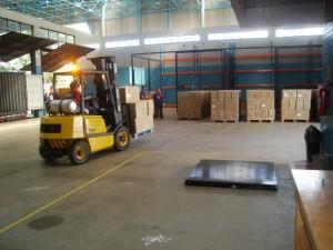 porto seco ajudando a exportação