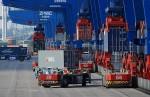 automatização do porto de Santos como em Roterdã