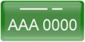 placa-branco-verde-teste