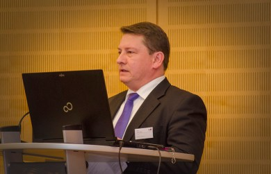 Dierk Näther, stellvertretender Vorsitzender Netzwerk Logistik Mitteldeutschland e. V.,; Foto: Andreas Reichelt