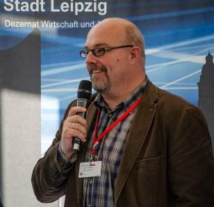 Marko Weiselowski, Vorstand Netzwerk Logistik Mitteldeutschland e. V.; Foto Andreas Reichelt
