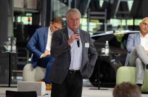 Siegfried Bülow, ehemaliger Werksleiter Porsche Leipzig