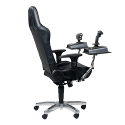 office chair joystick mount that converts to bed diy playseat conversion http www logitech com assets 27529 png