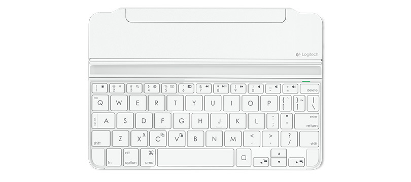Ultrathin Magnetic Clip-On Keyboard Cover for iPad mini