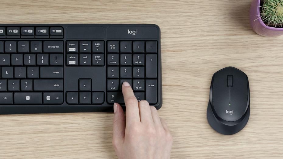 Logitech MK315 Quiet Wireless Keyboard Mouse Combo