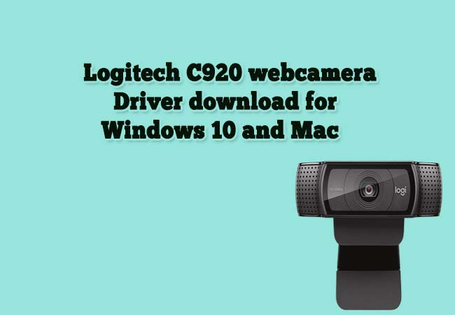 Logitech C920 driver and software
