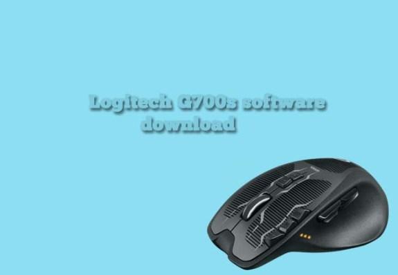 Logitech g700s software