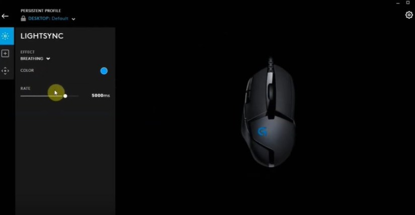 Logitech g402 lighting effect