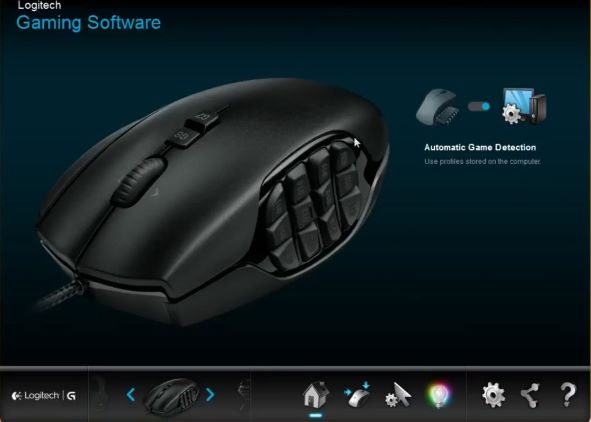 Logitech G600 Software Windows 10 Mac