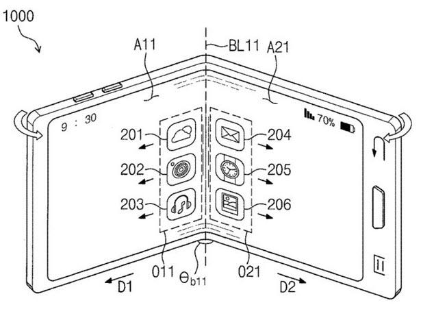 Galaxy X : Le premier smartphone pliable de Samsung