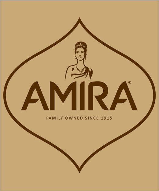 Bulletproof Designs New Branding for Amira Rice  Logo