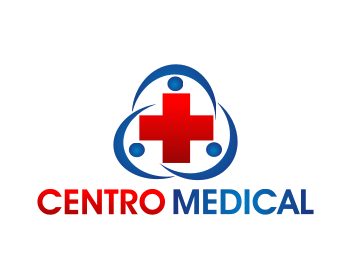Logo design entry number 65 by R3ANT  Centro Medical logo contest