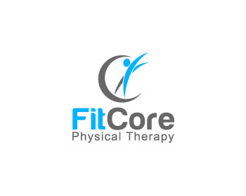 Fit Core Physical Therapy logo design contest. Loghi di
