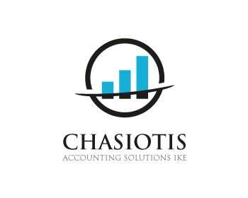 CHASIOTIS ACCOUNTING SOLUTIONS IKE logo design contest
