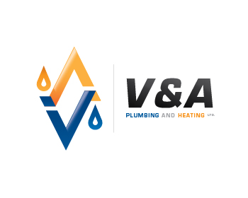 V A Plumbing And Heating Ltd Logo Design Contest Logo Arena