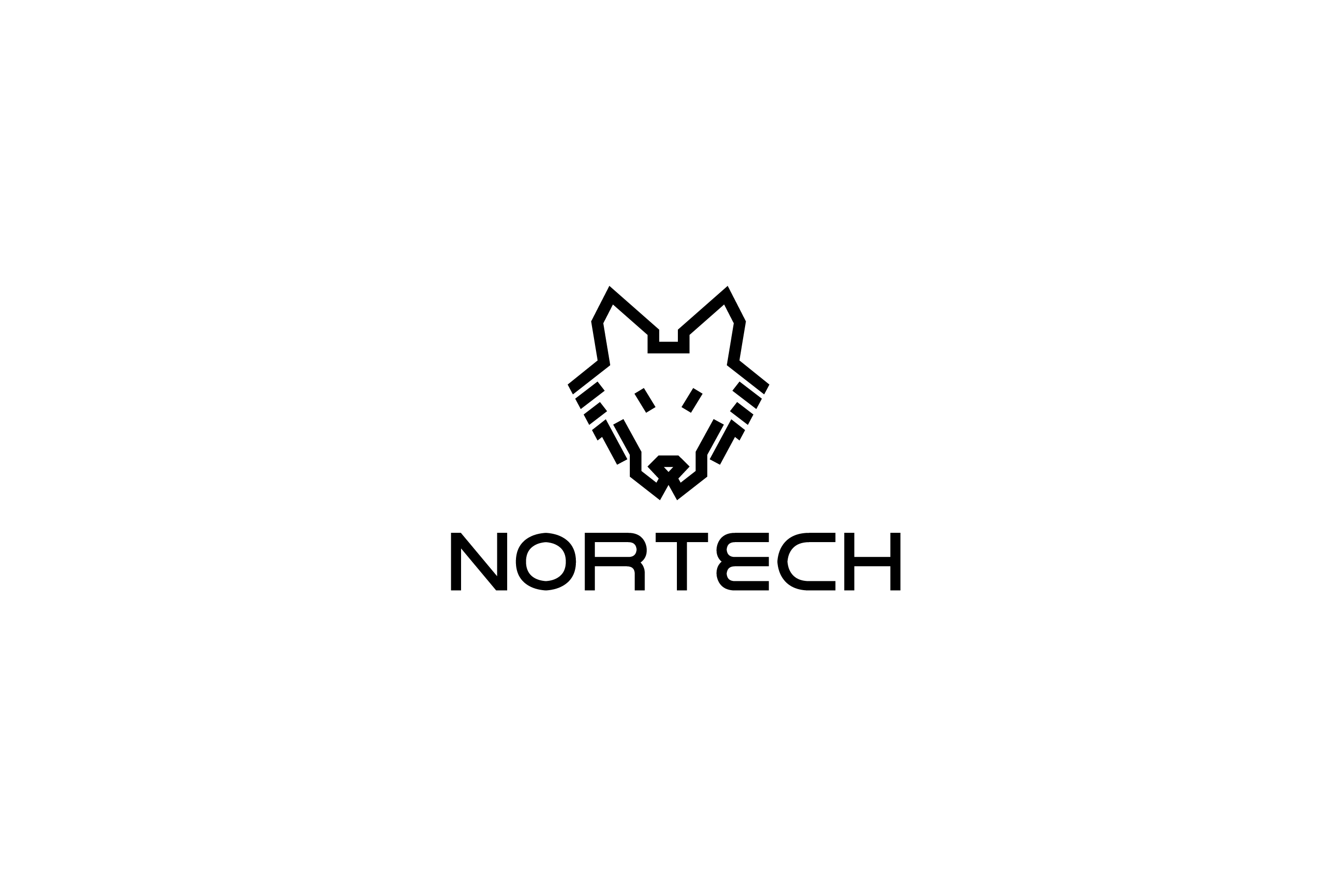 Nortech Wolf Logo SOLD Logo Cowboy