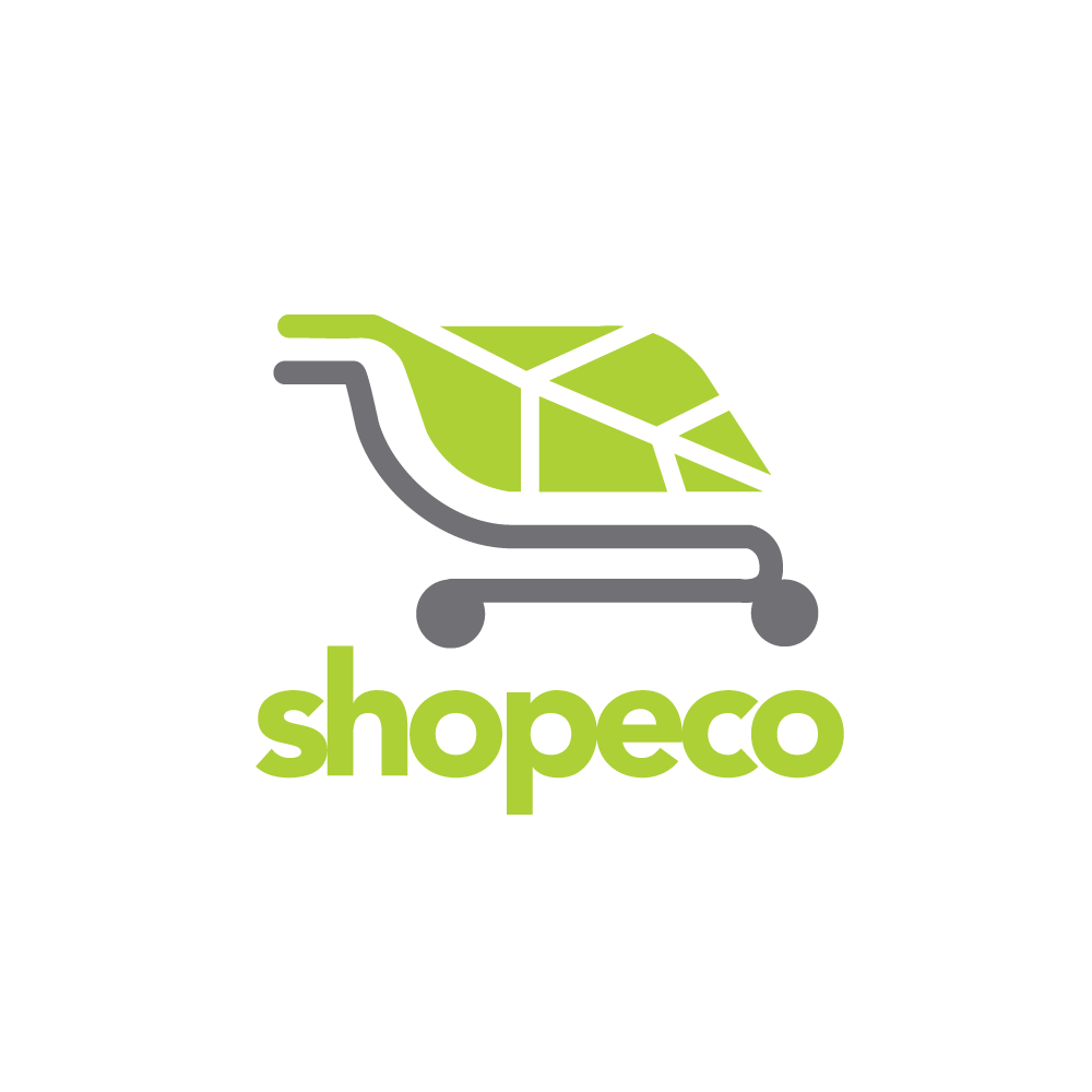 shopeco shopping cart leaf