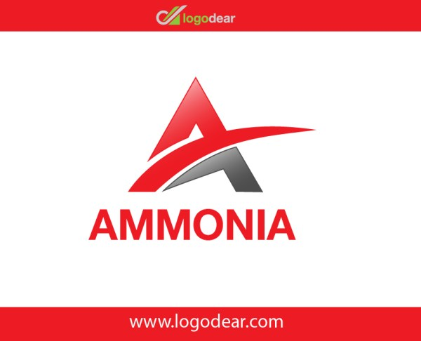 ammonia Vector logo design template letter a Free download