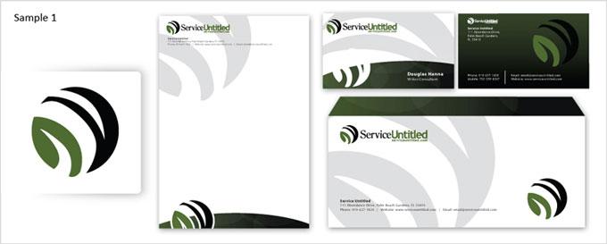 Stationery Design Samples Examples Stationary Portfolio